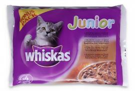 WHISKAS ALUTASAKOS 100G 4-PACK JUNIOR