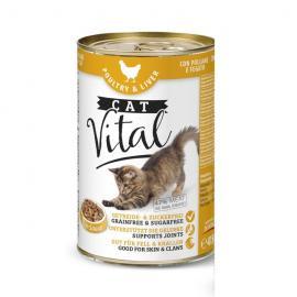 Cat Vital Poultry & Liver (baromfihússal, májjal) 415 gr