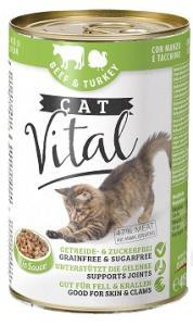 Cat Vital Beef & Turkey (marha és pulykahússal) 415 gr