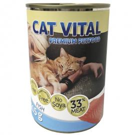 CAT VITAL KONZERV HAL 415GR