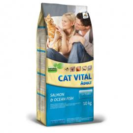 CAT VITAL ADULT SALMON & OCEAN FISH 10KG