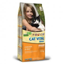 CAT VITAL ADULT CHICKEN & RICE 10KG