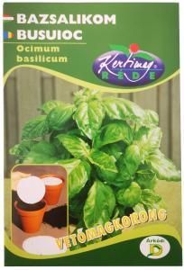 Bazsalikom Zöldlevelű 2db/cs Vetőmag korong