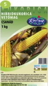 Hibrid kukorica Csanád (FAO 380) 1kg
