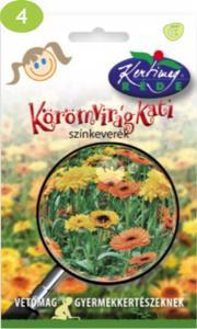 Gyerekkertész Körömvirág Kati Színkeverék