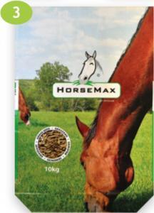 Fűkeverék lovak részére