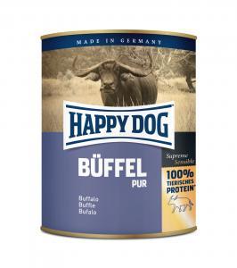 HAPPY DOG BÜFFEL PUR (Bivaly) Konzerv 800g