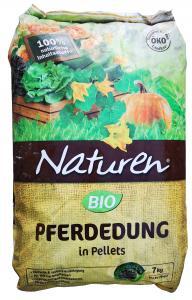NATUREN Bio Lótrágya pellet 7KG