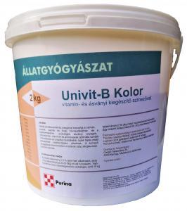 Univit-B Kolor Baromfi vitamin és ásványi kiegészítő színezővel