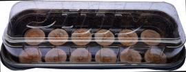 Palánta hajtató ablakpárkányra mini 12 db-os Jiffy
