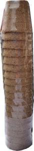 Tőzegcserép réselt Jiffy 6cm-es 18 db kerek