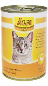 Alfi cat konzerv baromfi 415g