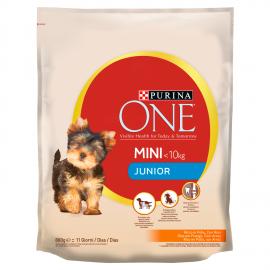 Purina One Mini Junior csirkében gazdag száraz kutyaeledel 800 g