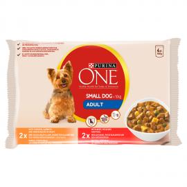 Purina One Mini Adult szószos válogatás nedves kutyaeledel 4 x 100 g