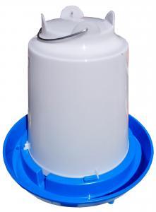 Baromfi önitató műanyag 10L függeszthető kék