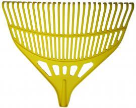 Lombseprű műanyag sárga 65cm