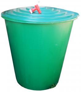 Esővíz tároló műanyag csapos 200 l