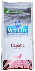 VET LIFE DOG HEPATIC 12KG
