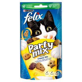 FELIX PARTY MIX Cheezy Mix macska jutalomfalat 60g