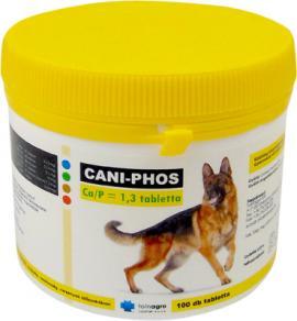 CANI-PHOS CA/P 1,3 TABLETTA 100X