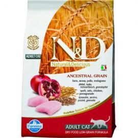 N&D Cat Low Grain csirke&gránátalma 300g