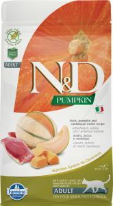 N&D Cat Grain Free Pumpkin Kacsa 1,5kg