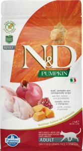 N&D Cat Grain Free Pumpkin Fürj 1,5kg