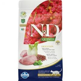 N&D Cat Quinoa Digestion Bárány 1,5kg