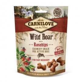 Carnilove Dog Crunchy Snack vaddisznóhús csipkebogyóval 200g