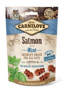 Carnilove Cat Crunchy Snack lazac mentával 50g