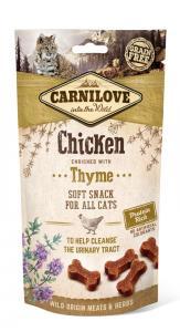 Carnilove Cat Semi Moist Snack csirke kakukkfűvel 50g