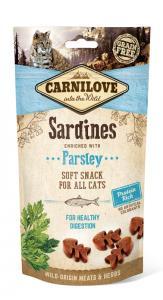 Carnilove Cat Semi Moist Snack szardínia petrezselyemmel 50g