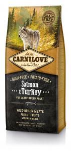 CarniLove Adult Large Lazac&Pulyka 12kg