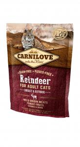 Carnilove Cat Adult Rénszarvas – Energy & Outdoor 400g