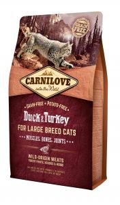 Carnilove Cat Kacsa & pulyka Large Breed – Muscles, Bones, Joints 2kg