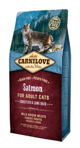 Carnilove Cat Adult Lazac – Sensitive & Long Hair 6kg