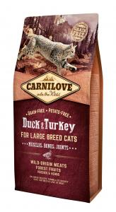 Carnilove Cat Kacsa & pulyka Large Breed – Muscles, Bones, Joints 6kg