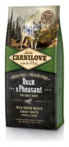 CarniLove Adult Kacsa Fácán 12kg