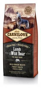 CarniLove Adult Bárány Vaddisznó 12kg