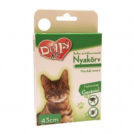 Dolly Natural Bolha és kullancsriasztó nyakörv macskák részére fehér 43cm