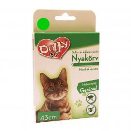 Dolly Natural Bolha és kullancsriasztó nyakörv macskák részére zöld 43cm