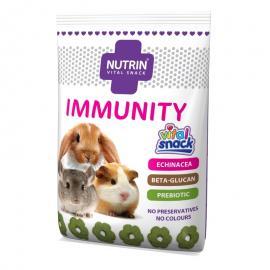 NUTRIN VITAL SNACK- IMMUNITY NYÚL,T.MALAC,CSINCSILLA 100G