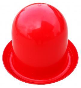 Baromfi itató műanyag 9 literes kúpos piros