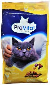 Previtál macskatáp 1,4 kg CSIRKÉS