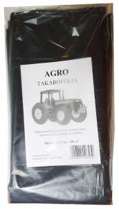 Fólia Agro fekete 4mx5mx0,125 csomagolt
