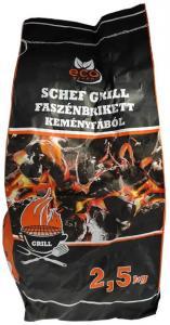 Faszén Grill brikett 2,5kg