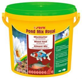 Haleledel (kerti tavakba) díszhalak számára Sera Pond Mix Royal (3800ml)