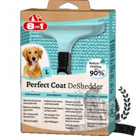 8in1 Perfect Coat DeShedder aljszőrkefe nagytestű kutyákhoz