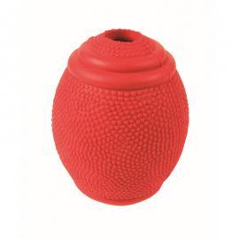 Játék gumi Rugby Snack Labda 8 cm