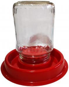 Baromfi itató talp befőttes üveghez